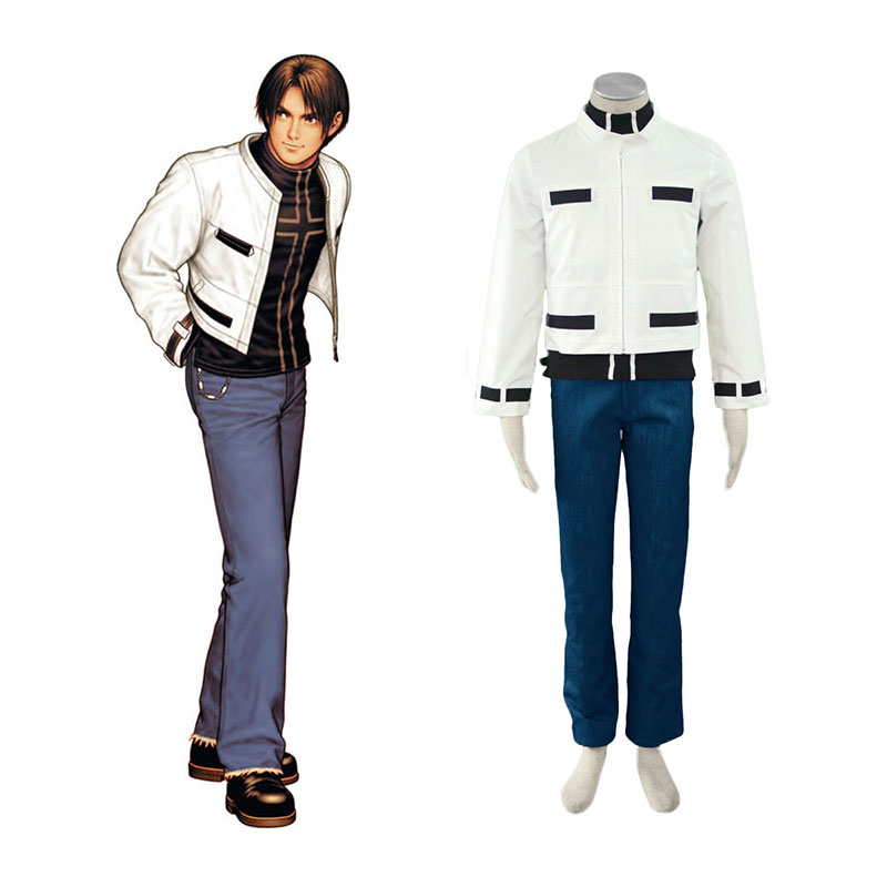 The King Of Fighters Kyo Kusanagi Cosplay Kostymer Online Butikken