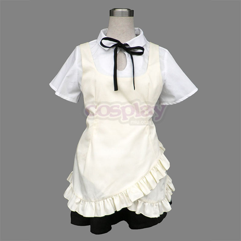 Working!! Wagnaria Hunn Uniform Cosplay Kostymer Online Butikken