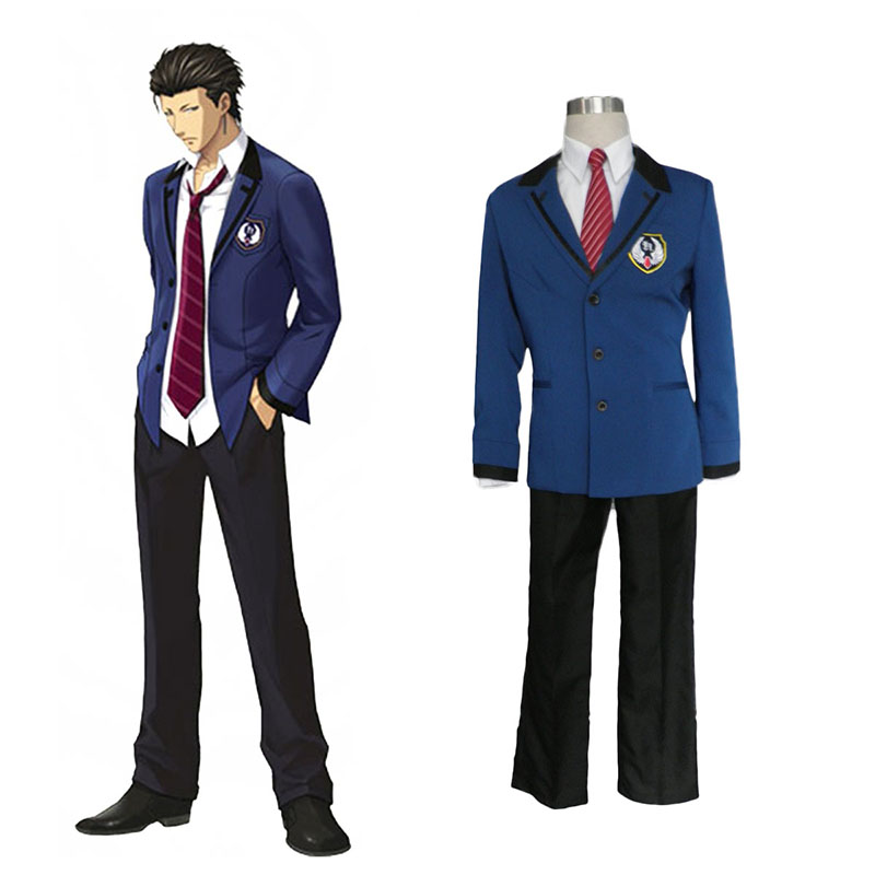 Tokimeki Memorial Girl's Side: 3 Story Male Uniform 2 Cosplay Kostymer Online Butikken