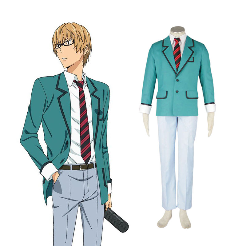 Bakuman Male School Uniform Cosplay Kostymer Online Butikken
