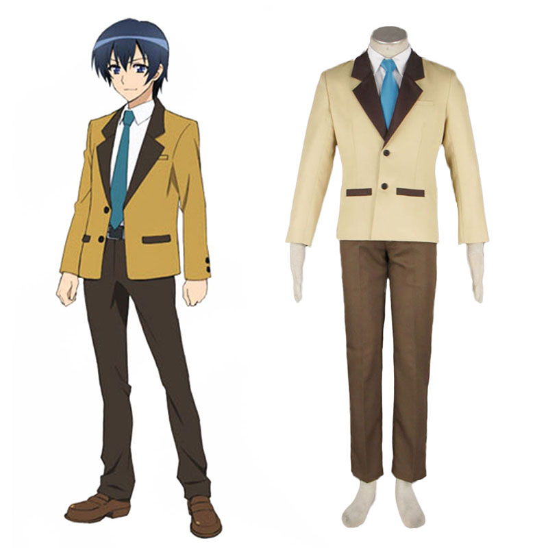 MM! Male Vinter School Uniform Cosplay Kostymer Online Butikken