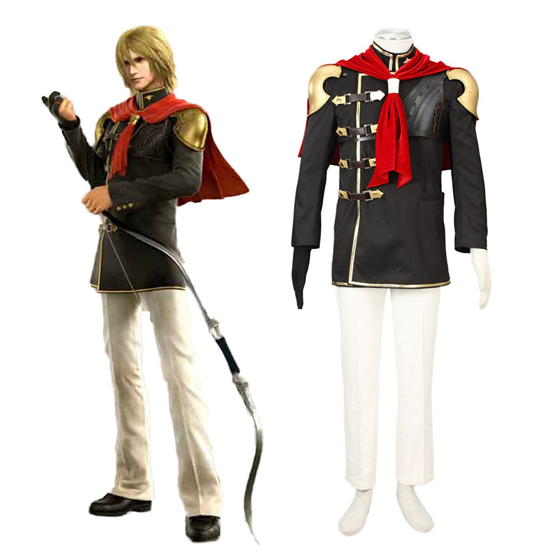 Final Fantasy Type-0 Trey 1 Cosplay Kostymer Online Butikken