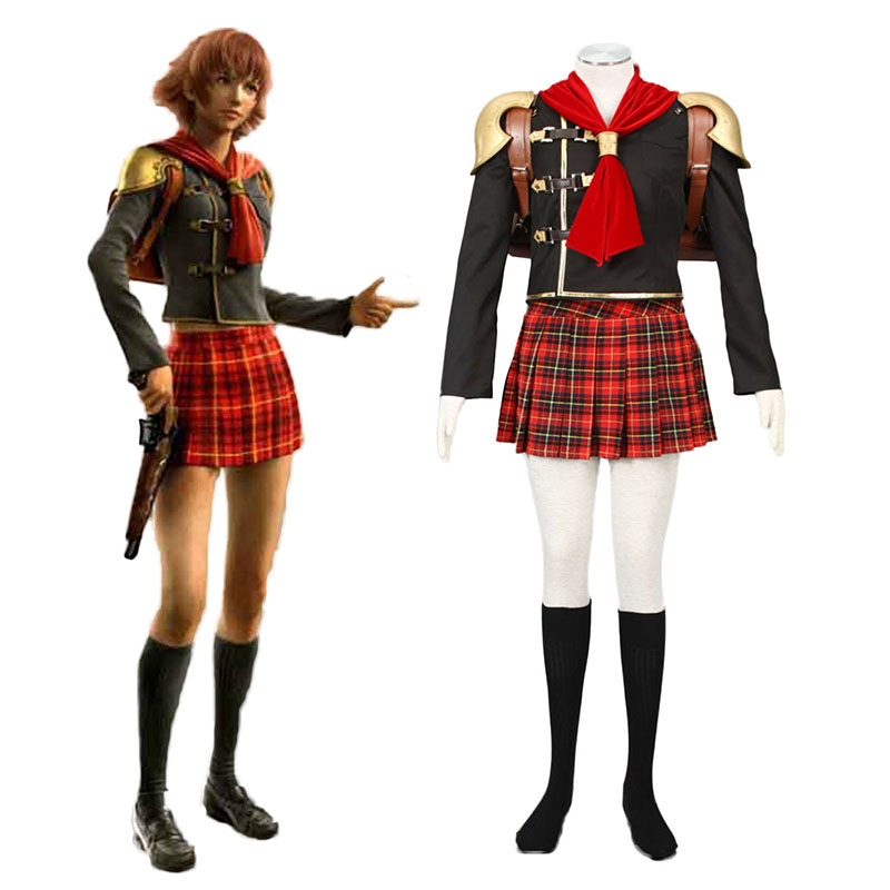 Final Fantasy Type-0 Cater 1 Cosplay Kostymer Online Butikken