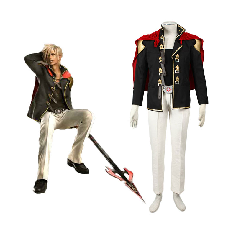Final Fantasy Type-0 Nine 1 Cosplay Kostymer Online Butikken