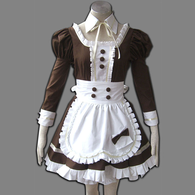 Maid Uniform 4 Coffee Whispery Cosplay Kostymer Online Butikken