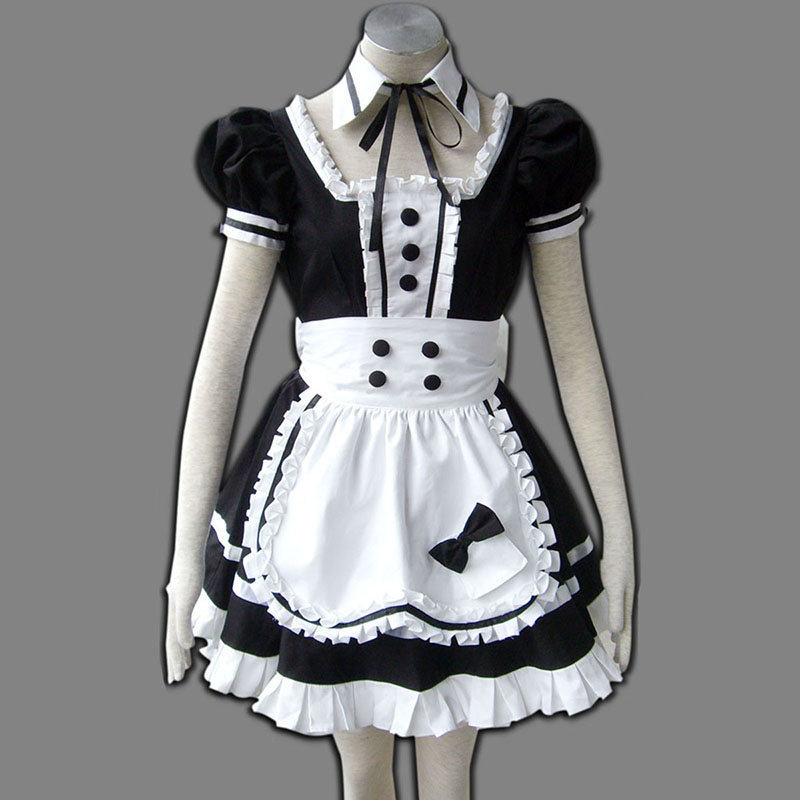 Maid Uniform 5 Princess Of Dark Cosplay Kostymer Online Butikken