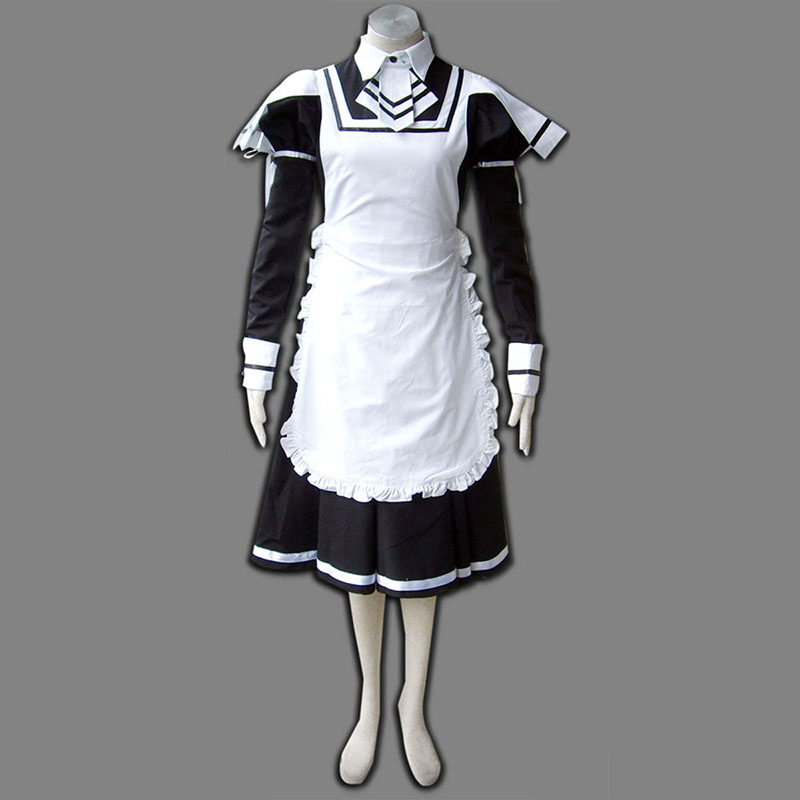 Maid Uniform 7 Deadly Weapon Cosplay Kostymer Online Butikken