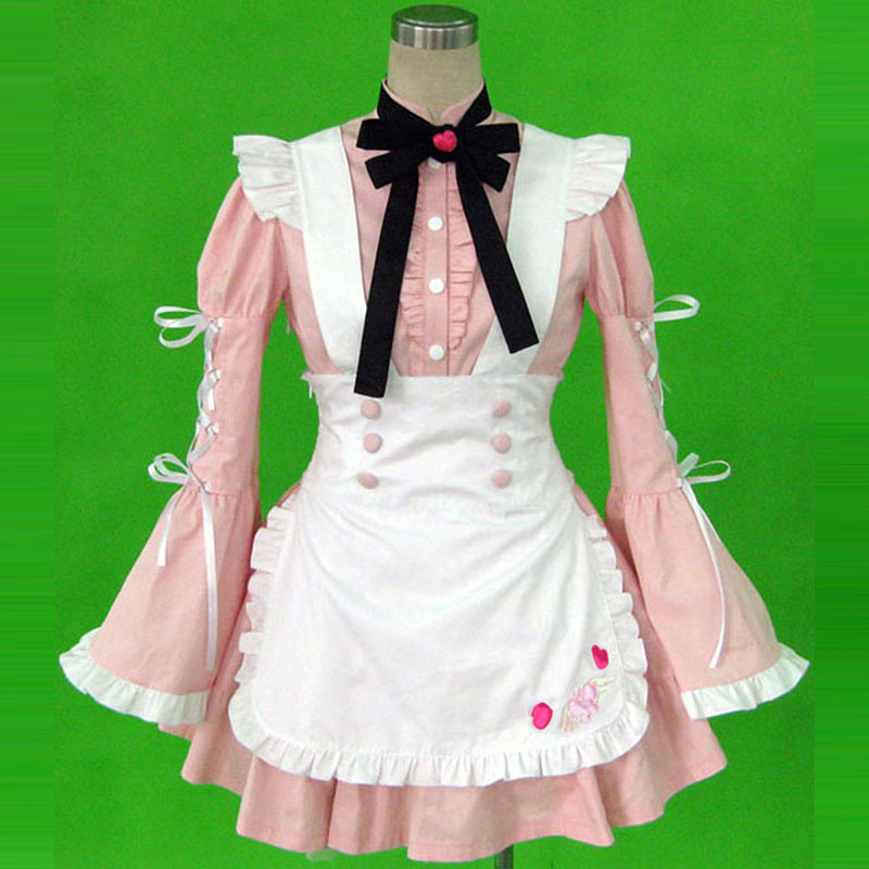 Maid Uniform 14 Cherry Snow Cosplay Kostymer Online Butikken