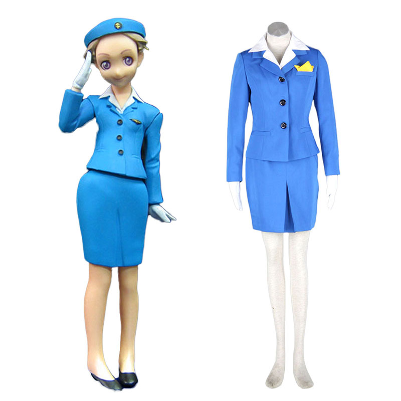 Aviation Uniform Kultur flyvertinne en Cosplay KostymerOnline Butikken