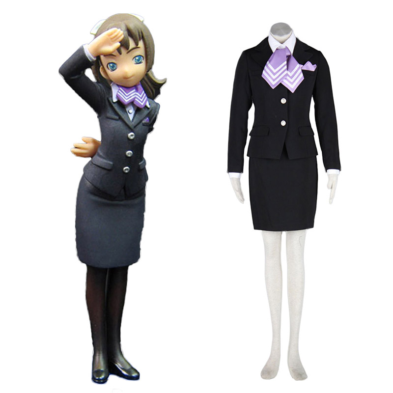 Aviation Uniform Kultur flyvertinne 9 Cosplay KostymerOnline Butikken