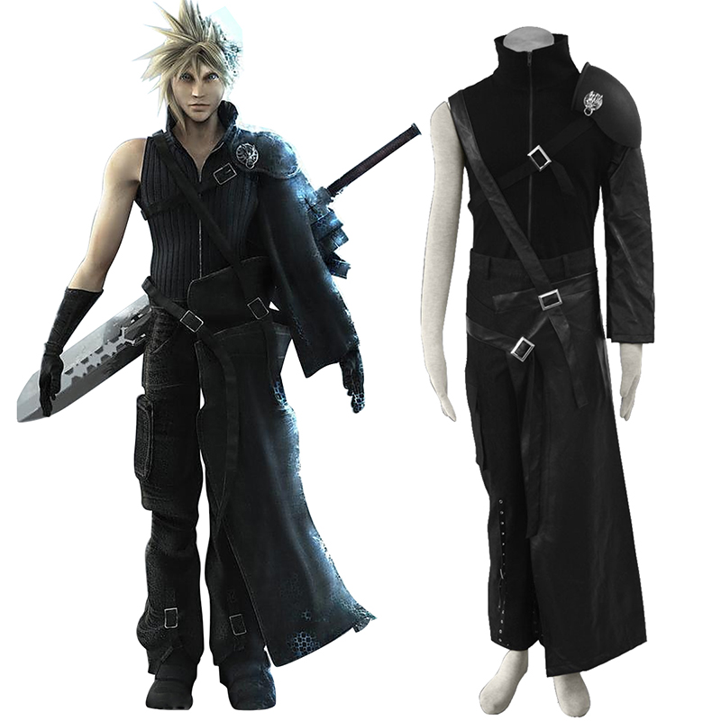 Final Fantasy VII Cloud Strife Cosplay Kostymer Online Butikken