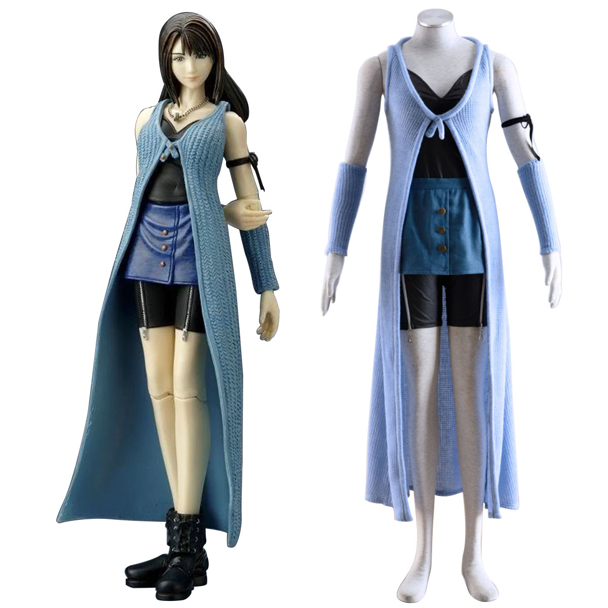 Final Fantasy VIII Rinoa Heartilly 1 Cosplay Kostymer Online Butikken