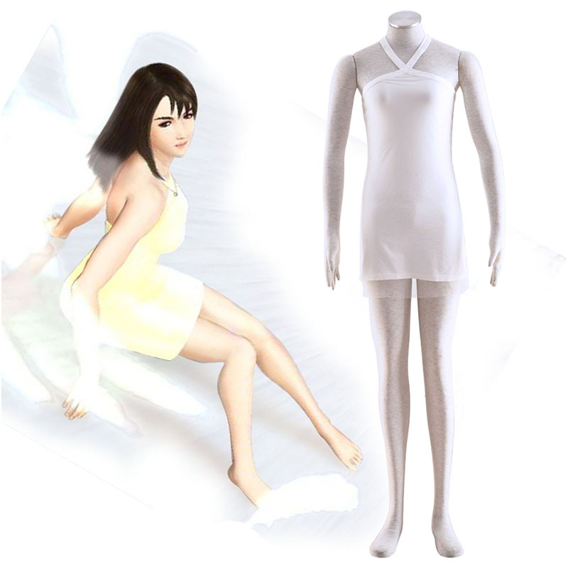 Final Fantasy VIII Rinoa Heartilly 2 Cosplay Kostymer Online Butikken