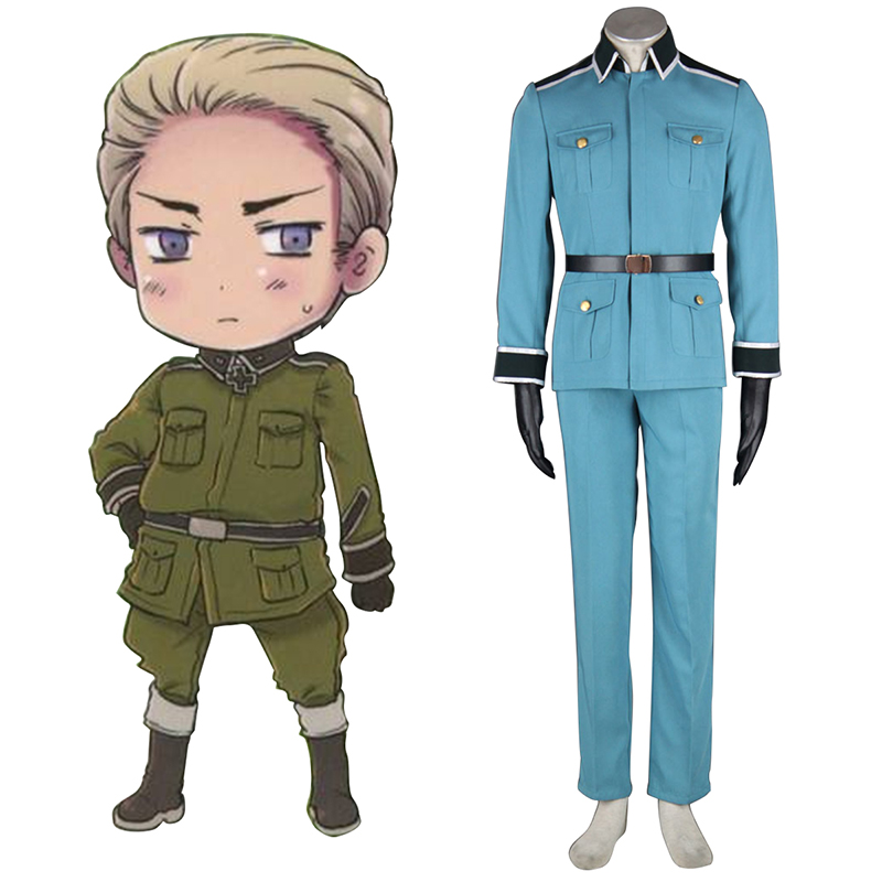 Axis Powers Hetalia Germany 1 Military Uniform Cosplay Kostymer Online Butikken