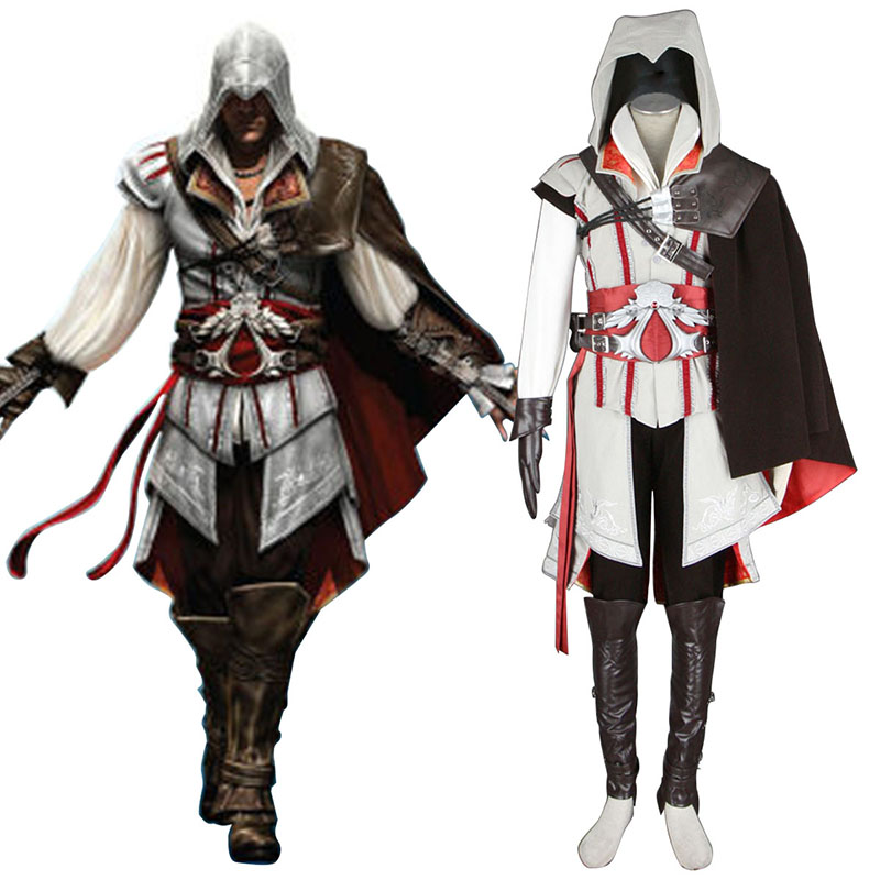 Assassins Creed II Assassin 2 Cosplay Kostymer Online Butikken