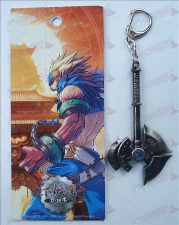 Underground inn med Warriors Keychain (ax)