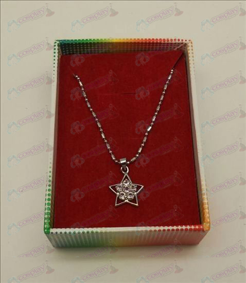 Lucky Star Tilbehør Diamond Necklace (Hvit)