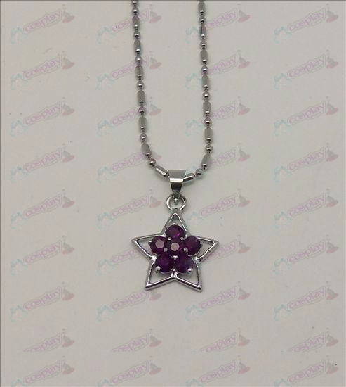 Blister Lucky Star Tilbehør Diamond Necklace (Purple)
