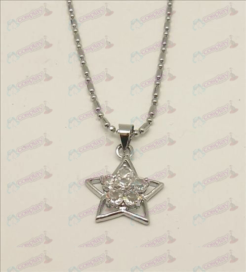 Blister Lucky Star Tilbehør Diamond Necklace (Hvit)