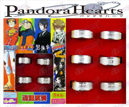 Pandora Frosted Ring (6 / sett)