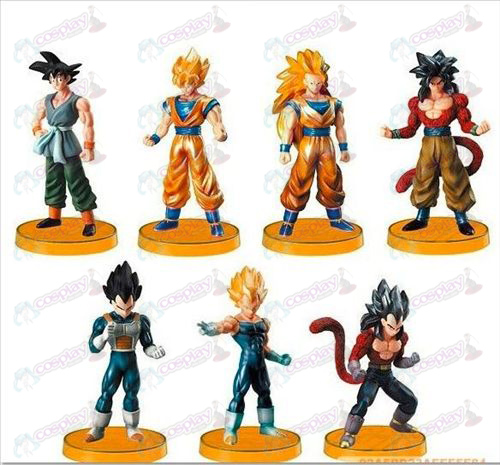 16 på vegne av basen 7 of the Dragon Ball Tilbehør Kit (Jane)