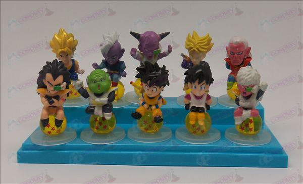 10 sit Pearl Dragon Ball Tilbehør Base 2