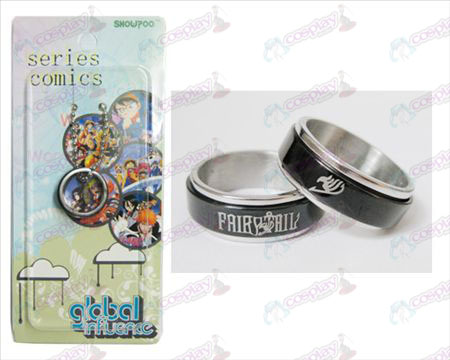 Fairy Tail Tilbehør Black Steel Ring transporter