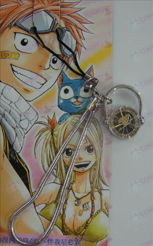 Black Steel Ring Strap Fairy Tail Tilbehør gull