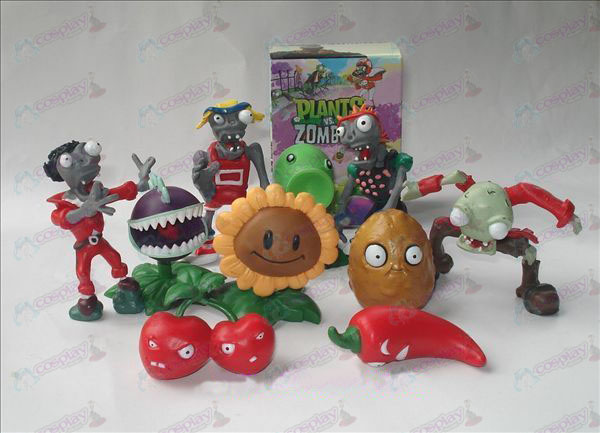 10 Plants vs Zombies Tilbehør Doll (eske)