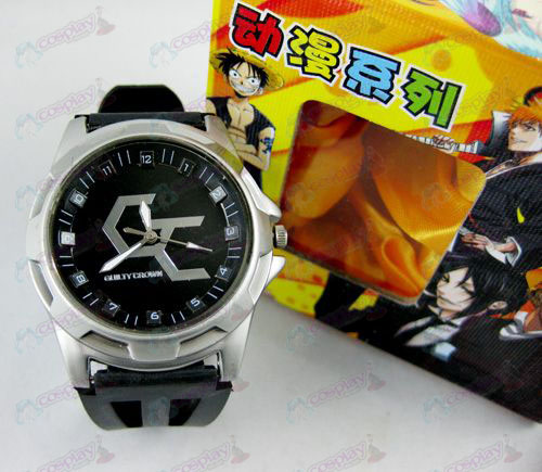 Guilty Crown Tilbehør Scale Watch - Black