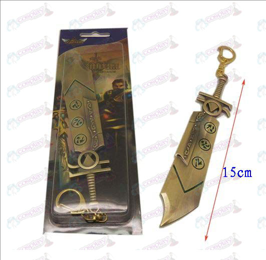 League of Legends Tilbehør kniv spenne 8 (bronse)