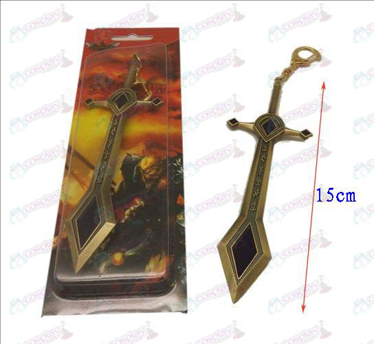 League of Legends Tilbehør kniv spenne 6 (bronse)