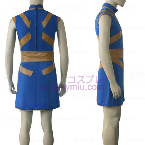 Hunter X Hunter Kurapica Fighting Cosplay Kostymer