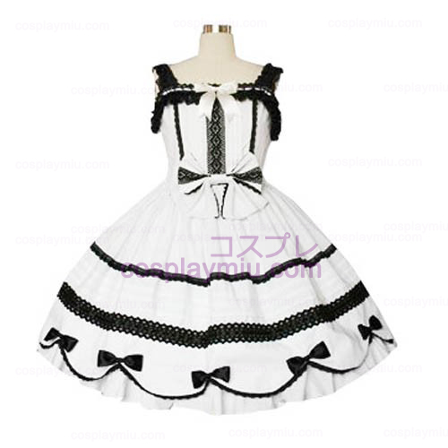 Lace Trimmet Gothic Lolita Cosplay Dress