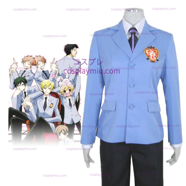 Ouran High School Host Club Halloween Cosplay Kostymer