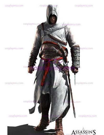Assassin Creed II Ezio cosplay White Edition