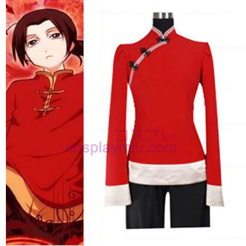 Hetalia Axis Powers Kina Cosplay Kostymer