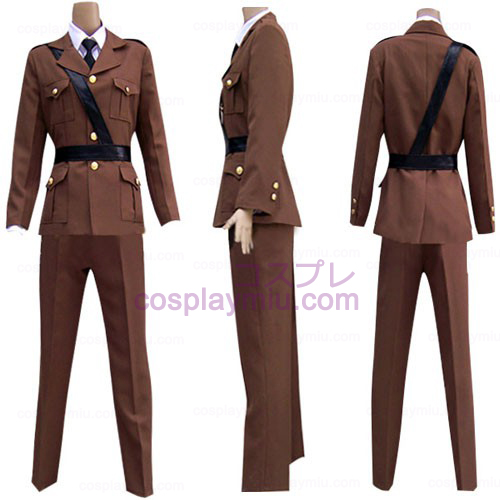 Hetalia Axis Powers Frankrike Cosplay Kostymer