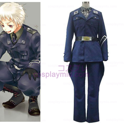 Axis Powers Preussen Gilbert Beilschmidt Cosplay Kostymer