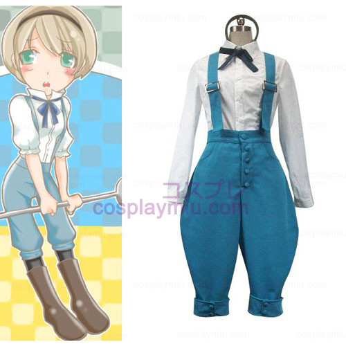 Axis Powers Ukraina Halloween Cosplay Kostymer