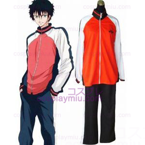 The Prince Of Tennis Selections Laget Winter Uniform Cosplay Kostymer