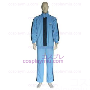The Prince Of Tennis Jyousei Shounan Light Blue og Black Cosplay Kostymer