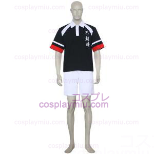 The Prince Of Tennis Fudomine Black and White Cosplay Kostymer