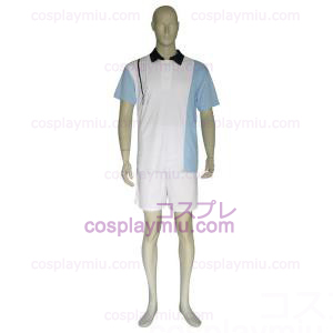 The Prince Of Tennis Hyotei Gakuen Light Blue and White Cosplay Kostymer