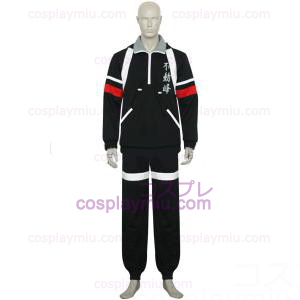 The Prince Of Tennis Fudomine Svart Cosplay Kostymer
