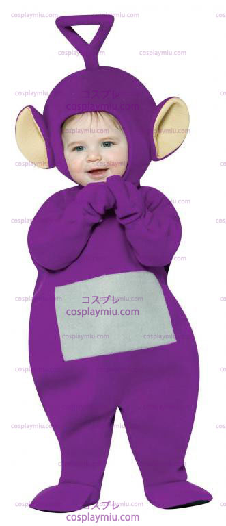 Teletubbies Tinky Winky Infant Kostymer