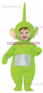 Teletubbies Dipsy Toddler Kostymer