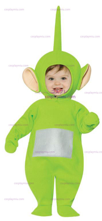 Teletubbies Dipsy Infant Kostymer
