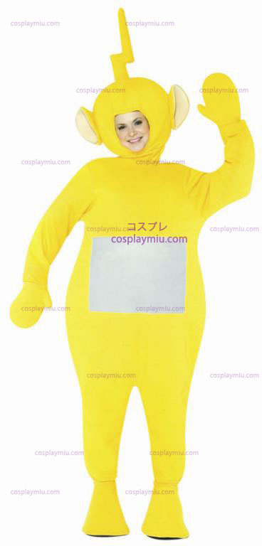 Teletubbies Laalaa Adult Kostymer