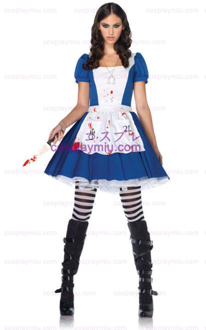 American McGees Alice in Wonderland Adult Kostymer